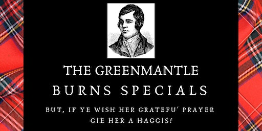 Burns Night at the Greenmantle