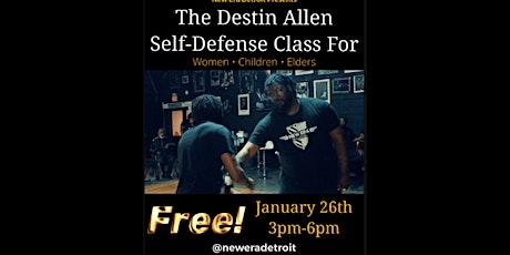 """The """"Destin Allen Self-Defense Class for Women & Children"""" ✊ tickets"""