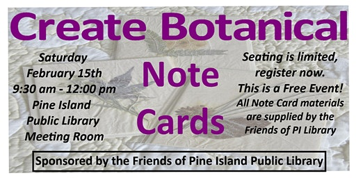 Create Botanical Note Cards