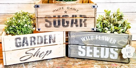 DIY Wood Crate Workshop - Meet & Make Event tickets