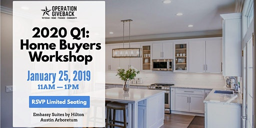 2020 Q1: Home Buyers Workshop