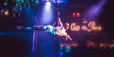 DISCO CABARET SHOW in CAFE de PARIS! FREE Drink & Snacks, Social & Party! billets