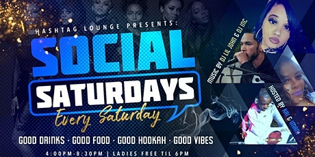 Social Saturdays Day Party tickets