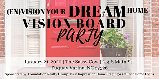 Vision Board Your Dream Home Party