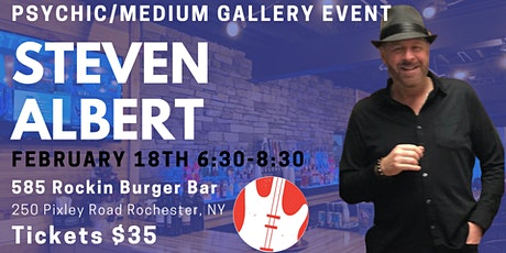 Steven Albert: Psychic Gallery Event - 585RockinBurger tickets