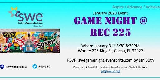 SWE Game Night