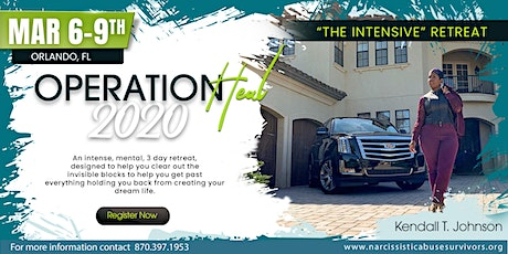 """Operation Heal 2020 """"The Intensive"""" tickets"""