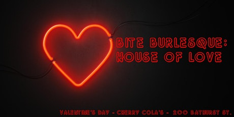 Bite Burlesque: House of Love tickets