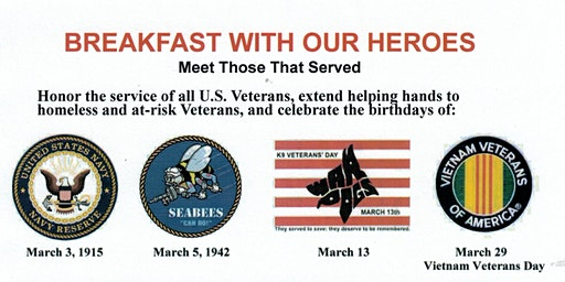 Breakfast with Our Heroes - Military Birthdays Celebration