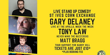 Live Stand up Comedy with Gary Delaney and Tony Law tickets