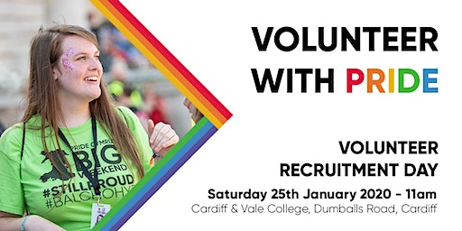 Pride Cymru Volunteer Recruitment Day