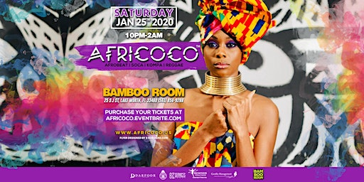 Africoco New Year Jam @Bamboo Room