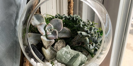 Succulent Crystal Terrarium Workshop tickets