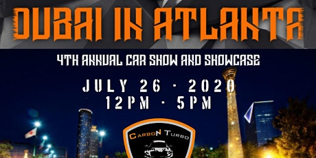 Dubai in Atlanta - 4th Annual Car Show tickets