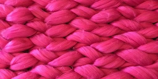 Arm Knit a Blanket @MADEptford