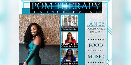 POMTHERAPY LAUNCH PARTY