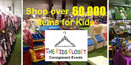 The Kids Kloset SHOP EARLY NASSAU Consignment Event, Friday, May 15, 2020