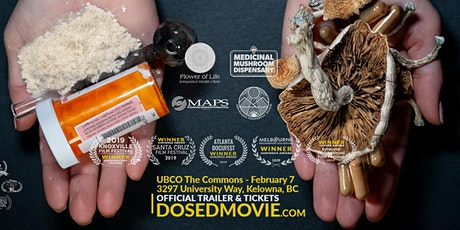 DOSED Documentary + Q&A - One Show Only at UBC Okanagan! tickets