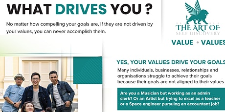 DISCOVER WHAT DO YOU REALLY WANT - WHAT DRIVES YOU ? tickets