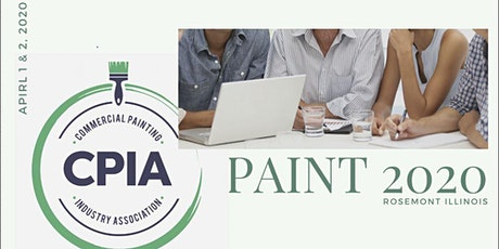 Paint 2020! Commercial Painting Industry Association tickets