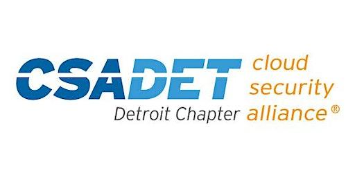 Detroit Cloud Security Alliance - Technical Track