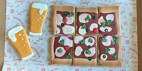 Pizza & Beer Cookie Decorating Class tickets