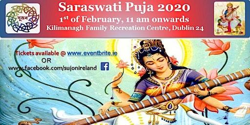 Sujan Ireland Saraswati Puja 2020