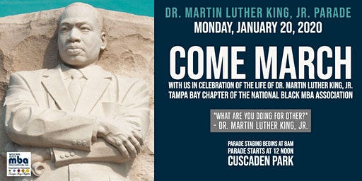 Come March With Us For MLK Day