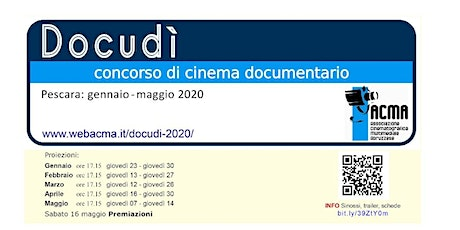 Al via l'ottava edizione di Docudì - concorso di cinema documentario tickets