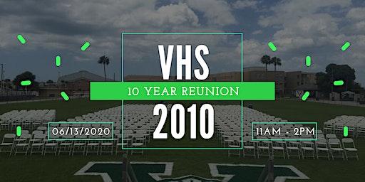 VHS Class of 2010 Reunion