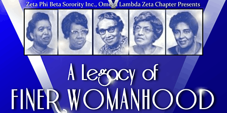 "3rd Annual Finer Womanhood Luncheon: ""A Legacy of Finer Womanhood"" tickets"