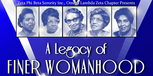 """3rd Annual Finer Womanhood Luncheon: """"A Legacy of Finer Womanhood"""""""