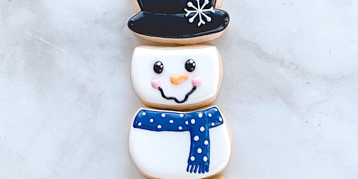Snowman Decorating Cookie Class - Kid Friendly