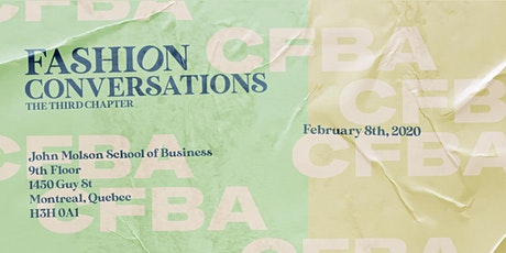 Fashion Conversation: The Third Chapter tickets