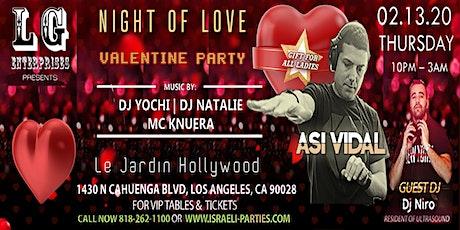 Night Of Love - Valentine Party tickets