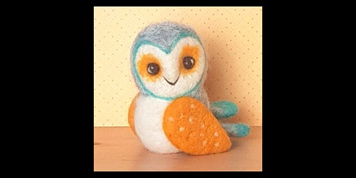 Needle Felting Workshop with Little Felted Dreams : Scandi Owl