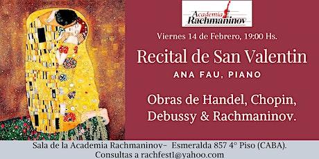 Festival Rachmaninov  -  Recital de San Valentín entradas