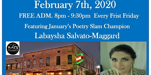 The Standpipe Poetry Slam Featuring Labaysha Salvato Maggard