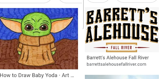 Baby Yoda All Ages Paint Event- Fall River