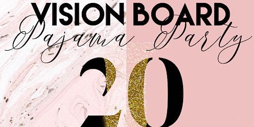 Pajama Vision Board Party
