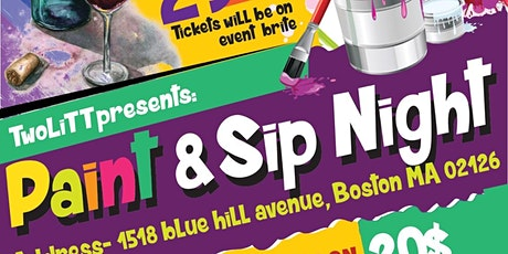 TwoLitt: Paint & Sip Night tickets