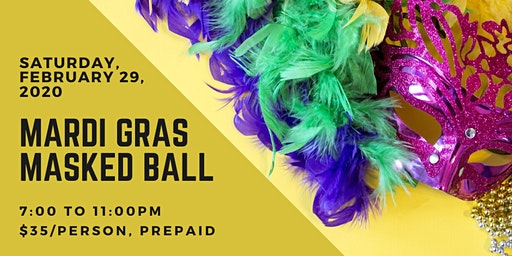 2020 Ballroom Magic Mardi Gras Masked Ball
