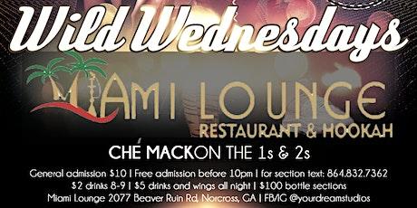 Wild Wednesdays @MiamiLoungeATL tickets