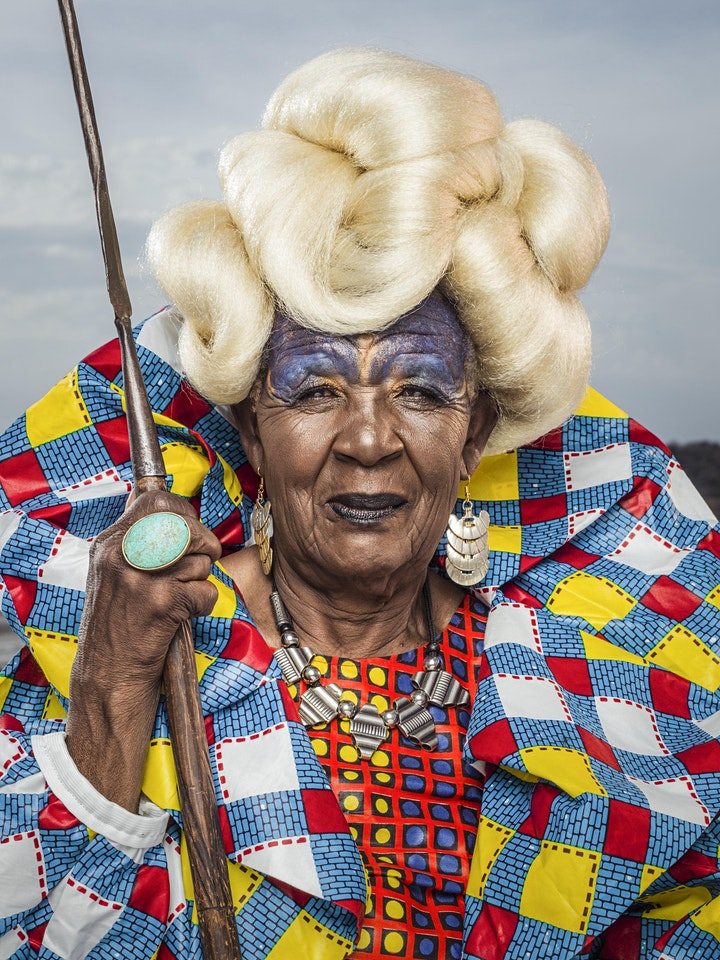 Afbeelding van Pop-Up Exhibition | NOW LOOK HERE - The African Art of Appearance