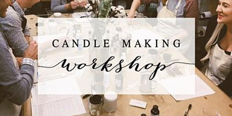 Wicks & Wine Candle Making Class by SA'SHE tickets