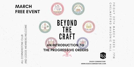 'Beyond the Craft' tickets