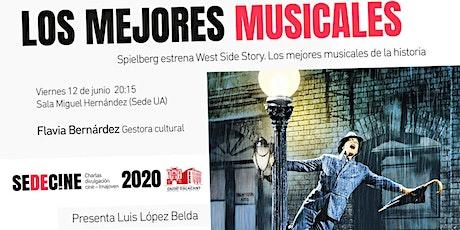 """Charla """"Spielberg estrena West Side Story. Los mejores musicales. entradas"""