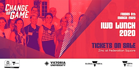 2020 Change Our Game International Women's Day Lunch tickets
