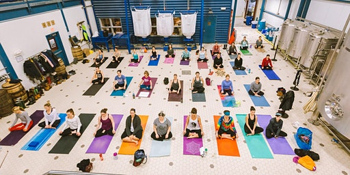 Do Yoga. Do Good. February Donation Yoga at Allagash.