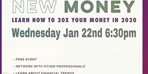 NEW MONEY LEARN HOW TO 20X YOUR MONEY IN 2020
